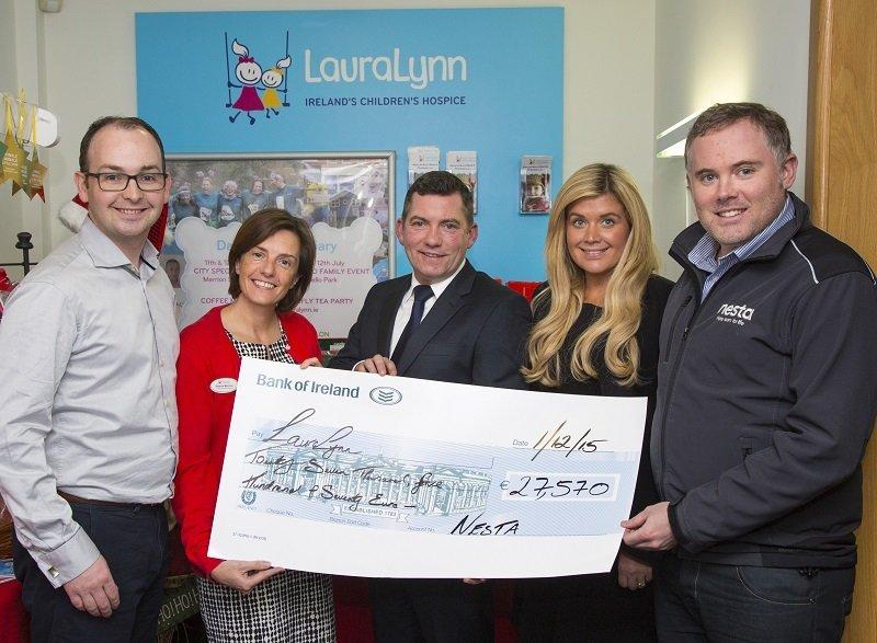 Nesta Raises €27,570 for The LauraLynn Children's Hospice