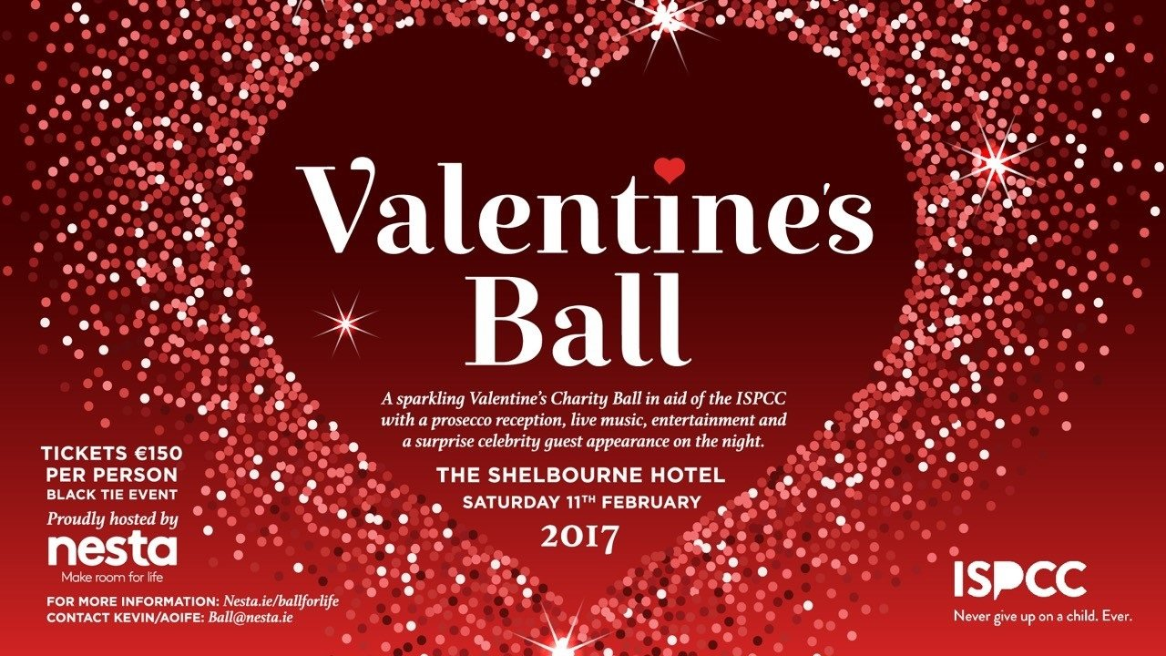 Nesta hosts Ball for Life in aid of ISPCC at Shelbourne Hotel