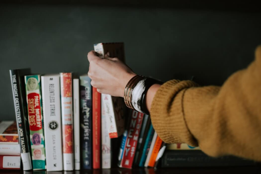 Storing your books, movies, and music