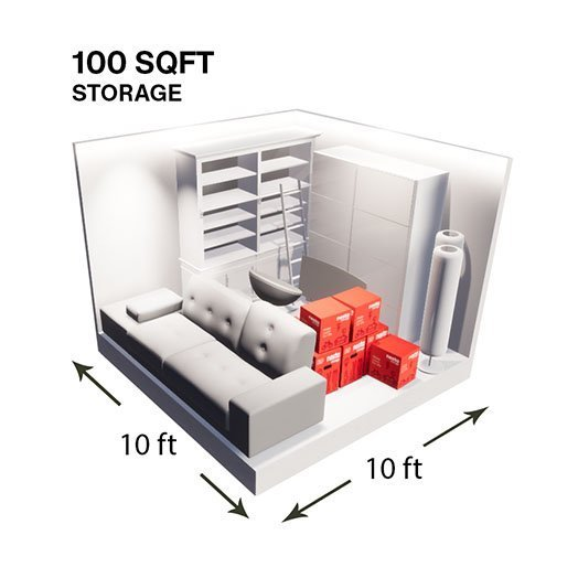 100sqft Storage Unit