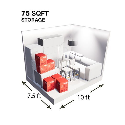 75sqft Storage Unit