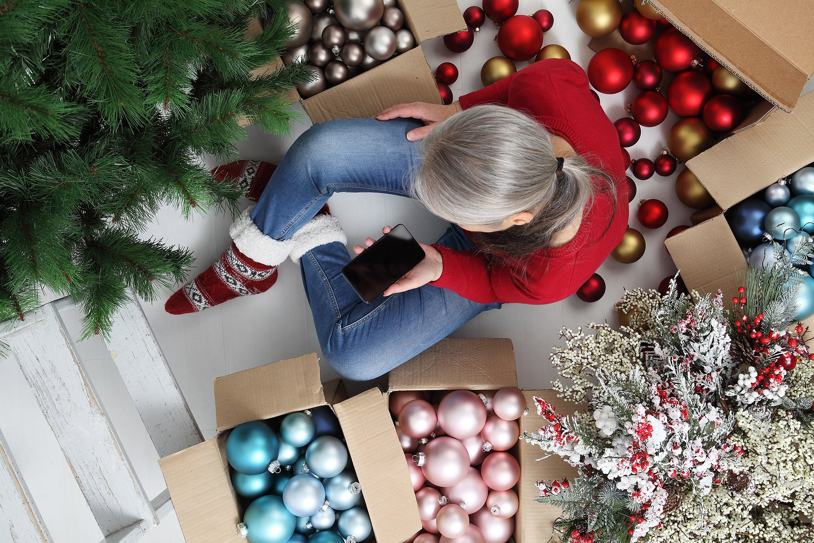 How to Store Christmas Decorations