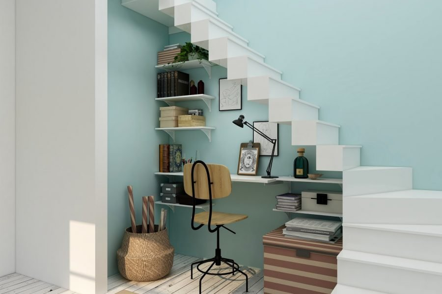 Under the Stairs Office