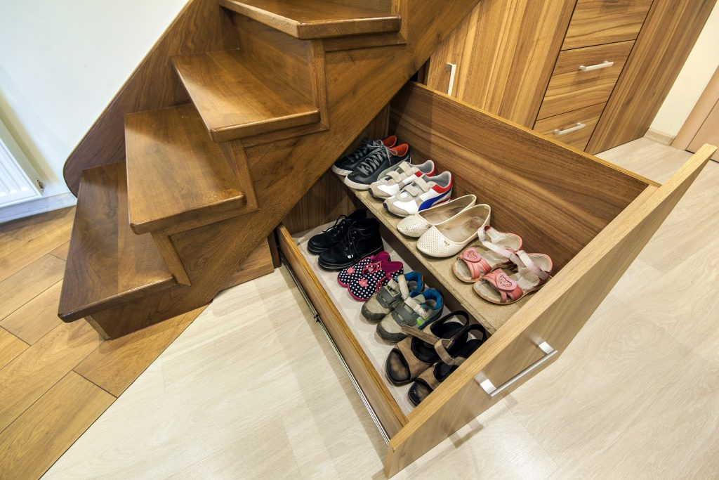 How to Make Under Stairs Storage Drawers