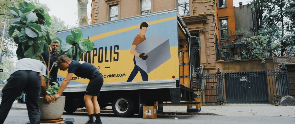Moving companies can help you with moving boxes overseas.